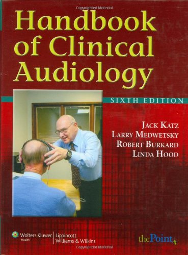 9780781781060: Handbook of Clinical Audiology (Point (Lippincott Williams & Wilkins))
