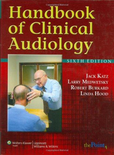 9780781781060: Handbook of Clinical Audiology (Point (Lippincott Williams & Wilkins))