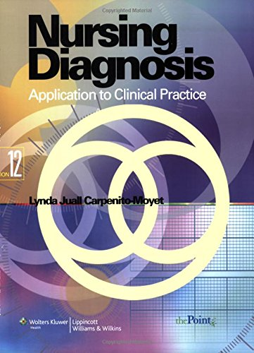 9780781781213: Nursing Diagnosis: Application to Clinical Practice (Point (Lippincott Williams & Wilkins))