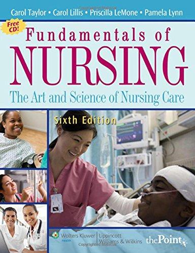 Fundamentals of Nursing: The Art and Science: Carol R. Taylor