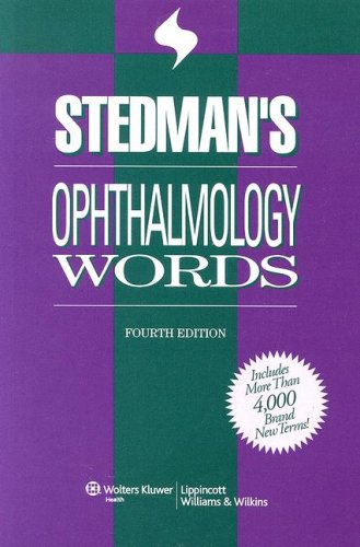 9780781781756: Stedman's Ophthalmology Words