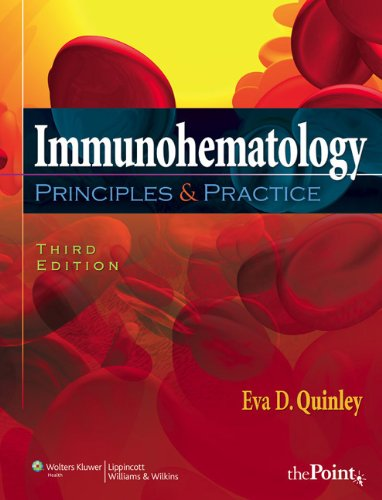 9780781782043: Immunohematology: Principles and Practice (Point (Lippincott Williams & Wilkins))