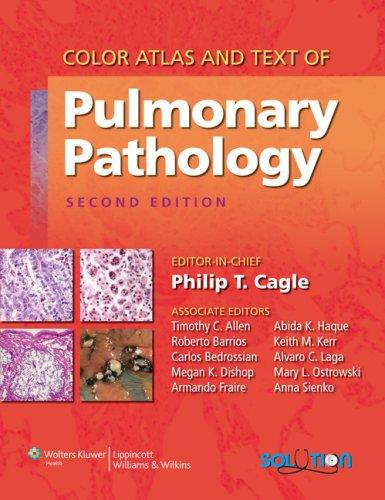 Color Atlas and Text of Pulmonary Pathology (Hardback)