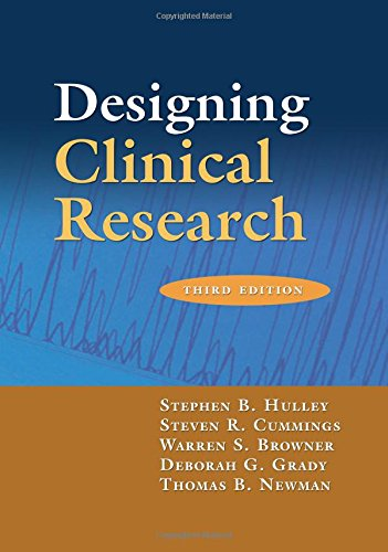 9780781782104: Designing Clinical Research