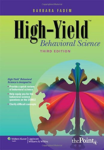 9780781782586: High-Yield™ Behavioral Science (High-Yield Series)