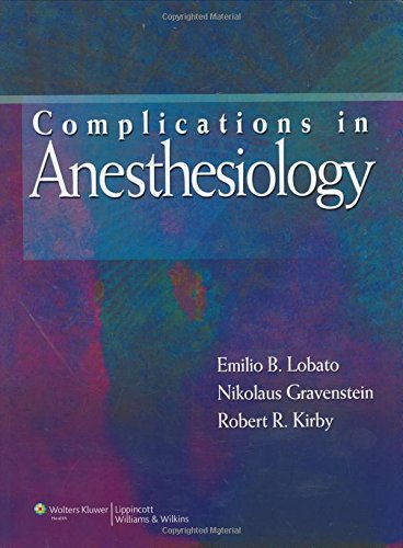 9780781782630: Complications in Anesthesiology
