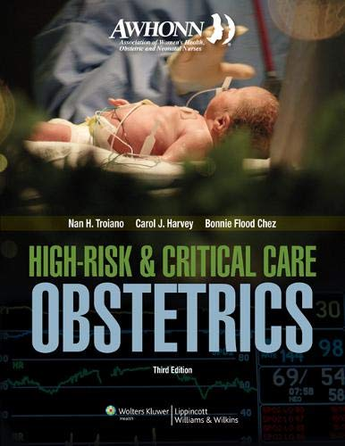 9780781783347: AWHONN High-Risk & Critical Care Obstetrics
