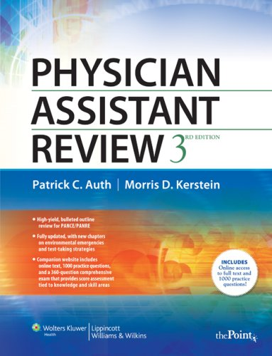 9780781783606: Physician Assistant Review