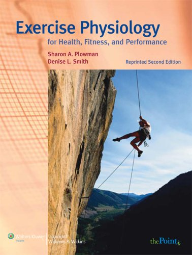 9780781784061: Exercise Physiology for Health, Fitness, and Performance