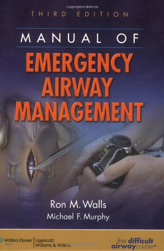9780781784948: Manual of Emergency Airway Management