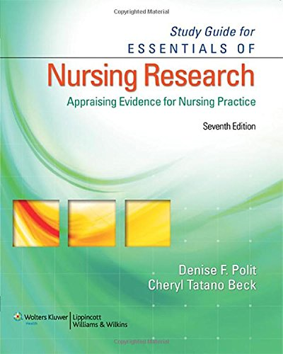 9780781785815: Study Guide for Essentials of Nursing Research: Appraising Evidence for Nursing Practice