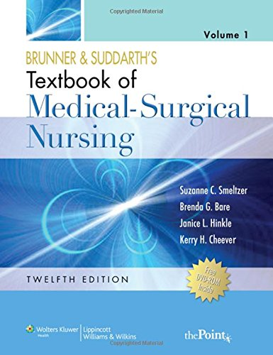 9780781785907: Brunner and Suddarth's Textbook of Medical-Surgical Nursing (Two Volume Set) Twelfth Edition