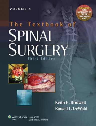9780781786201: The Textbook of Spinal Surgery