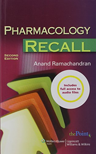 9780781787307: Pharmacology Recall: Print and Audio Package (Recall (Wolters Kluwer))