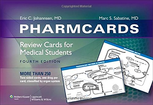 9780781787413: Pharmcards: Review Cards for Medical Students