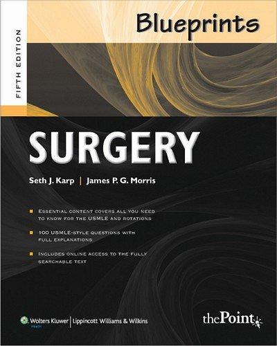 9780781788687 blueprints surgery 5th edition abebooks seth j 9780781788687 blueprints surgery 5th edition malvernweather Gallery