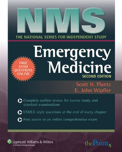 9780781788847: NMS Emergency Medicine (National Medical Series for Independent Study)