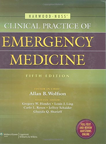9780781789431: Harwood-nuss' Clinical Practice of Emergency Medicine (Clinical Practice of Emergency Medicine (Harwood-Nuss))