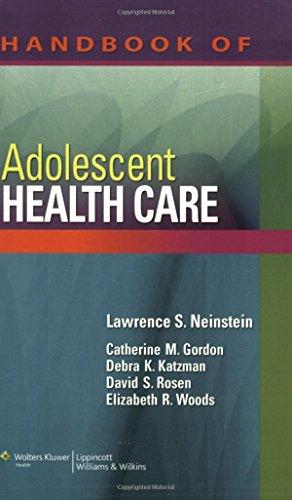 9780781790208: Handbook of Adolescent Health Care