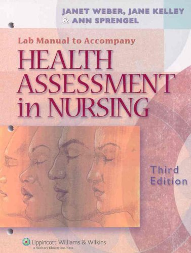 9780781791182: Health Assessment in Nursing Lab Manual