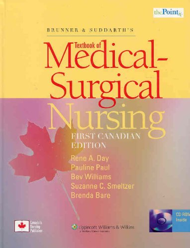 9780781791304: Brunner and Suddarth's Textbook of Medical-Surgical Nursing, Canadian Edition