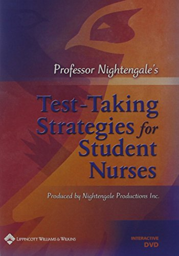 9780781791311: Professor Nightengale's Test-Taking Strategies for Student Nurses Interactive DVD