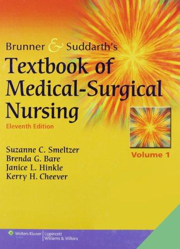 9780781791854: Brunner & Suddarth's Textbook of Medical-Surgical Nursing