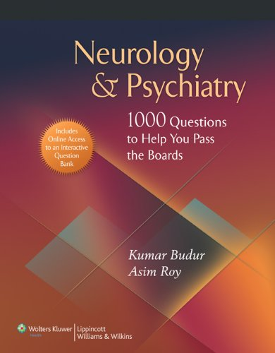 9780781792639: Neurology & Psychiatry: 1,000 Questions to Help You Pass the Boards [With Neuropsychquestions]