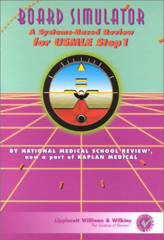 9780781792653: Board Simulator: A Systemsbased Review for Usmle Step 1, Version 1.0C