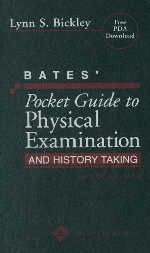 9780781793483: Bates' Pocket Guide to Physical Examination and History Taking (Professional Guide Series)