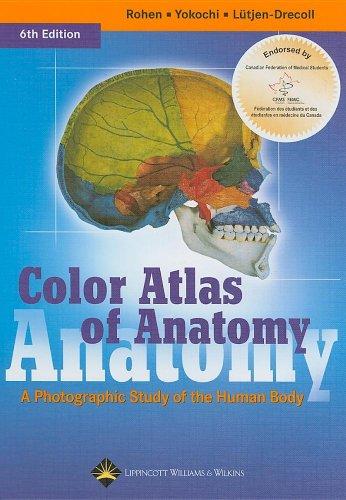 9780781793803: Color Atlas of Anatomy: A Photographic Study of the Human Body (Canadian Version)