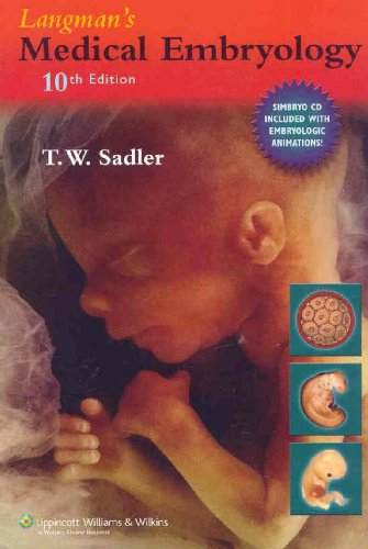 9780781794855: Langman's Medical Embryology