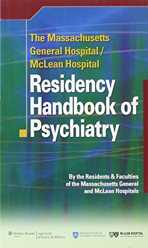9780781795043: The Massachusetts General Hospital/McLean Hospital Residency Handbook of Psychiatry