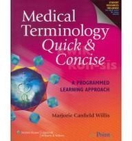 9780781795722: Medical Terminology: Quick and Concise Package