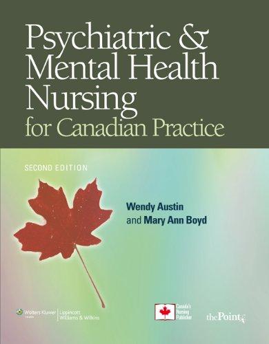 9780781795937: Psychiatric Mental Health Nursing for Canadian Practice