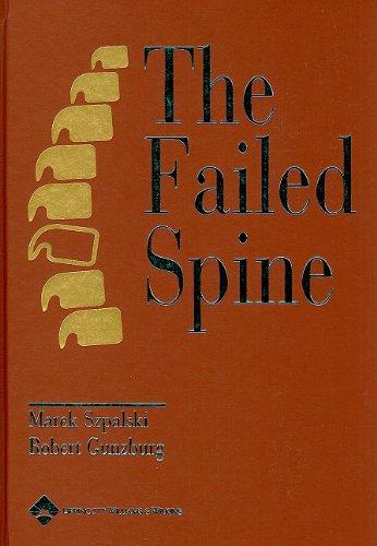 surgery for low back pain gunzburg robert szpalski marek rydevik bjrn l mayer h michael le huec jean charles