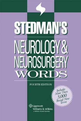 9780781796422: Stedman's Neurology & Neurosurgery Words (Stedman's Word Books)