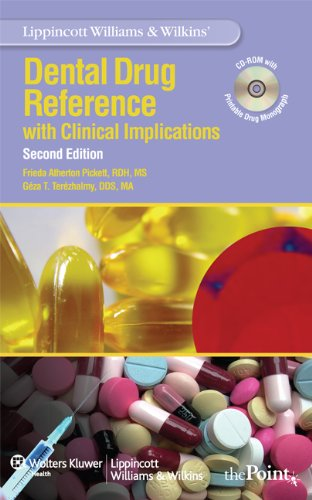 9780781798273: Lippincott Williams & Wilkins' Dental Drug Reference: With Clinical Implications
