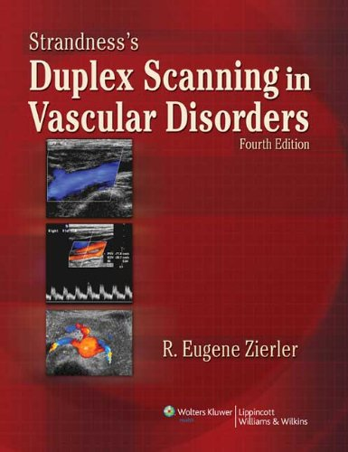 9780781798389: Strandness's Duplex Scanning in  Vascular Disorders