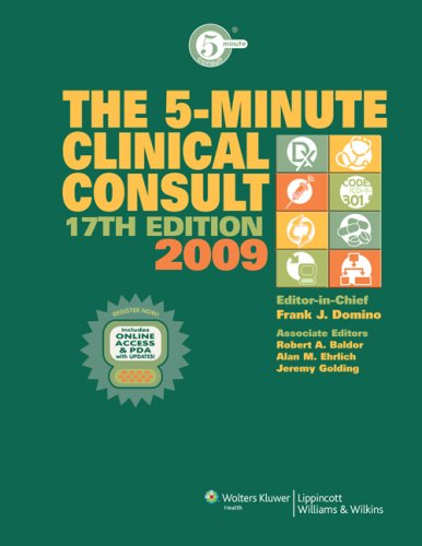 5-Minute Clinical Consult 2009: Domino, Frank J.;
