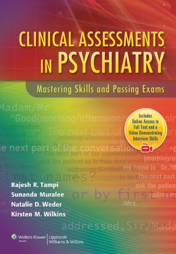 9780781799096: Clinical Assessments in Psychiatry: Mastering Skills and Passing Exams