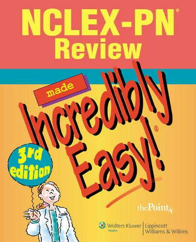 9780781799201: NCLEX-PN® Review Made Incredibly Easy! (Incredibly Easy! Series®)