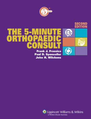 9780781799713: The 5-Minute Orthopaedic Consult