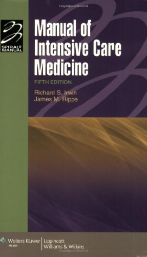 9780781799928: Manual of Intensive Care Medicine (Lippincott Manual Series (Formerly Known as the Spiral Manual Series))