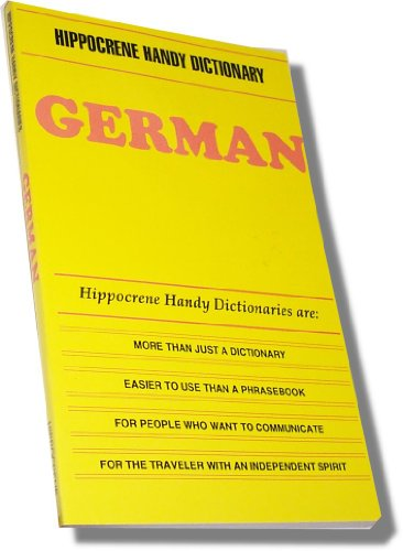 9780781800143: German (Hippocrence Handy Dictionaries)