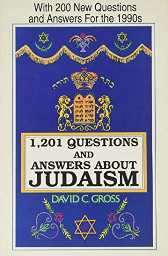 9780781800501: 1201 Questions and Answers About Judaism