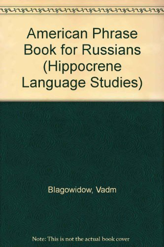 9780781800549: American Phrasebook for Russians (Hippocrene Language Studies)