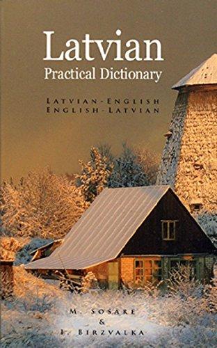 9780781800594: Latvian-English English-Latvian Dictionary (Hippocrene Practical Dictionary)