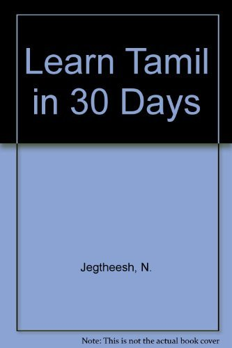 9780781800624: Learn Tamil in 30 Days