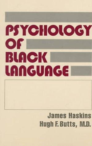 9780781800860: The Psychology of Black Language